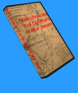 54 Historic Revolutionary War Maps of New Jersey on CD