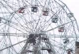 An exciting ferris wheel ride