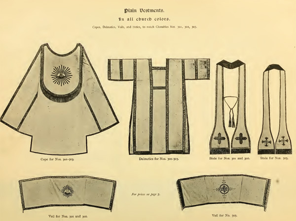 Church Vestments Banners Embroidery Designs Needlework History 17