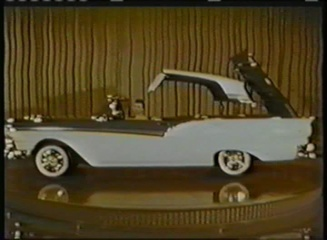 1950& 39 s Ford Skyliner Fairlane Hardtop Convertible DVD