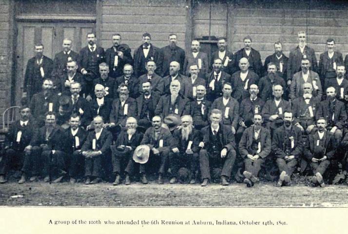 Indiana Civil War Regiment Genealogy 39 Book Set