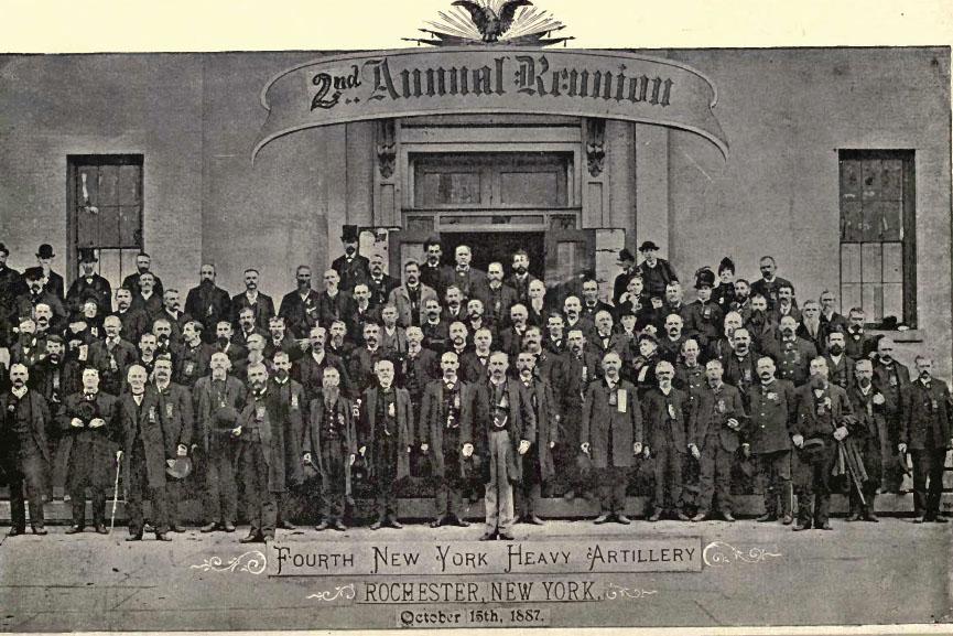 New York Civil War Regiment Genealogy 59 Book Set