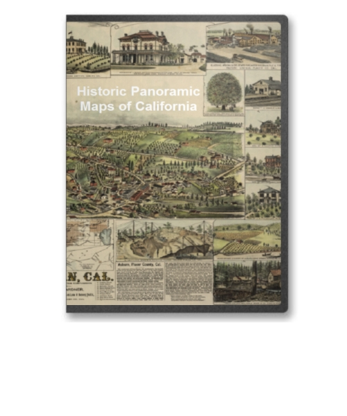 NEW JERSEY VINTAGE PANORAMIC MAPS COLLECTION ON CD